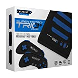 Super Retro Trio Plus HD Royal Blue PAL Version Retro-Bit Europe (Electronic Games)