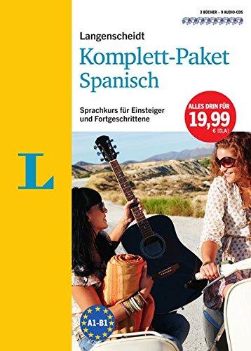 Langenscheidt Komplett-Paket Spanisch - 3 Bücher mit 9 CDs: Der Sprachkurs für Einsteiger und Fortgeschrittene (Sprechen Spanisch Cd)