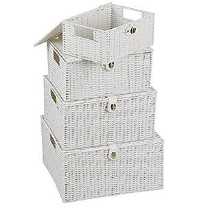 Aufbewahrungskörbe Mit Deckel aufbewahrungskorb metall deckel deine wohnideen de