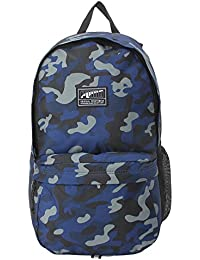 Puma Blue Depths and Camo AOP Laptop Backpack (7567501)