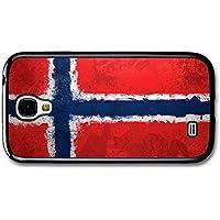Norwegian Flag Norway Norske Flagg carcasa de Samsung Galaxy S4 A2384