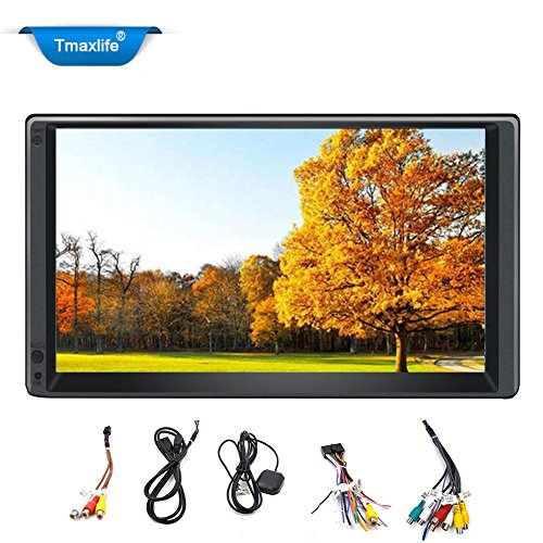 Quad Core Android 4.4 3 G WiFi 17,8 cm double 2DIN autoradio radio stereo GPS navi