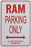RAM Parkplatz nur Zeichen - Dodge