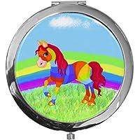 """metALUm - Extragroße Pillendose in runder Form""""Pferd"""" preisvergleich bei billige-tabletten.eu"""