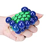 TiaoBug Grape Shaped Squeeze Balls Fidget Toys Stress Anxiety Relief Tool for Kids Adults