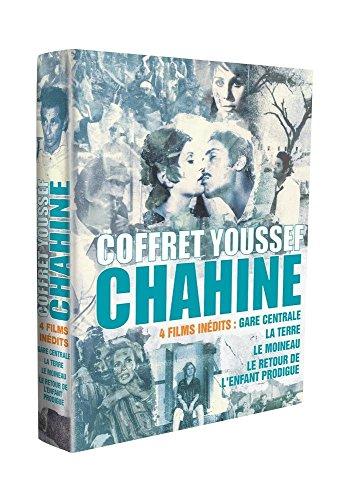 Coffret Youssef Chahine - 4 films inédits - Gare centrale + La terre + Le moineau + Le retour de l'enfant prodigue - Coffret 4 DVD + 1 livret