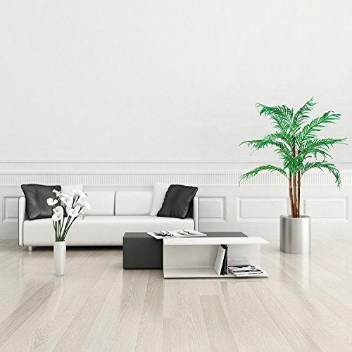 Kokospalme, Echtholzstamm, Kunstpalme, Kunstpflanze, Kunstbaum – 160cm - 3