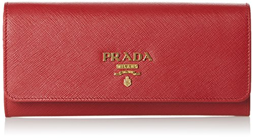Prada1bp290 - Sacchetto Donna , rosso (Rot (Fuoco)), 2.5x10x21 cm (B x H x T)