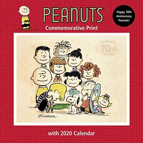 Calendario Snoopy 2020.Peanuts 2020 Collectible Print With Wall Calendar