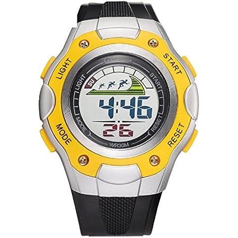 Studente orologio/Impermeabile orologio sportivo/Orologi di moda/ running Chronograph Watch-C