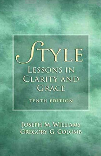 [(Style : Lessons in Clarity and Grace)] [By (author) Joseph M. Williams ] published on (January, 2010)