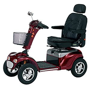 Roma Medical (Shoprider) Cordoba Class 3 Mobility Scooter 75Ah - Red