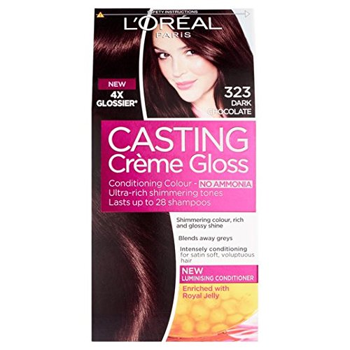 L 'Oreal Casting Creme Gloss Dark Chocolate 323
