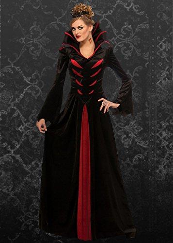 Damen-Königin der Vampire Kostüm Std. (UK 10-12)