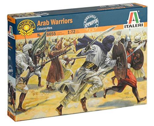 ITALERI 6055S - 1:72 Arab. Warriors , Modellbau, Bausatz, Standmodellbau, Basteln, Hobby, Kleben, Plastikbausatz, detailgetreu