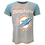 NFL Miami Dolphins T-shirt Grey Official Licensed Sport