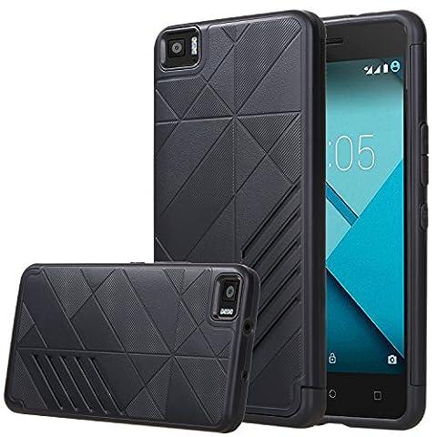 BQ Aquaris M5 Case ,VOVIPO Dual Layer Shockproof [Drop Protection] Slim Hybrid Impact Skin Case Cover for BQ Aquaris M5
