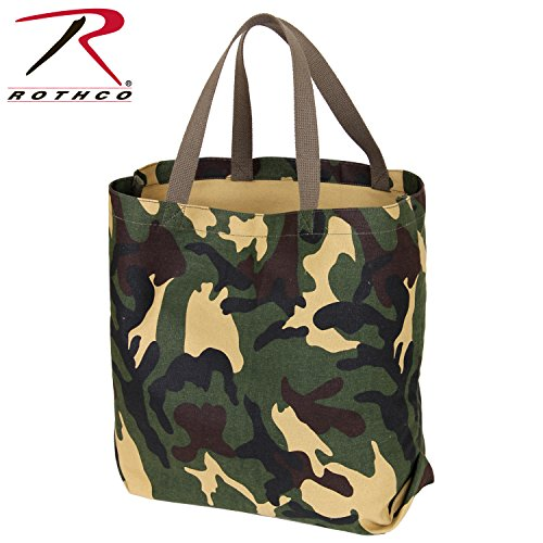 Camo Canvas Tote Bag (Rothco Canvas Camo Tote Bag)