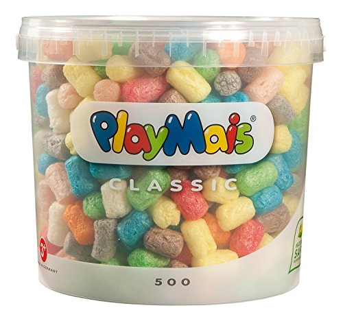 PlayMais 160026 - PlayMais Basic 500 Eimer, ca. 500 Teile