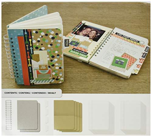 Seiten Abdeckung (We R Memory Keepers Paper Cinch Journal Kit 8Zoll x 9Zoll, Abdeckungen, Seiten und Draht)