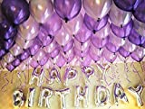 HorBous Paquete de 100 globos de decoración para fiestas de...