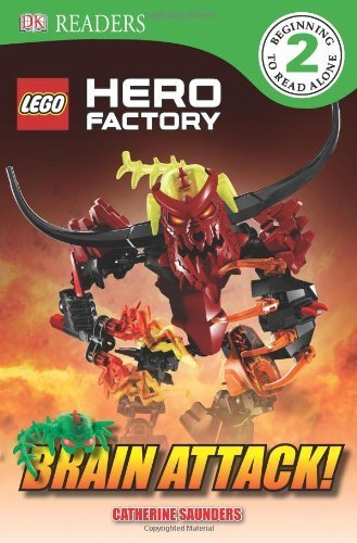 Brain Attack (Lego Hero Factory) by Saunders, Catherine (2013) Paperback (Lego Hero Factory Brain Attack)