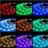 Rxment 5M LED Strips Lights - LED Lights Blue LED Strip Lights