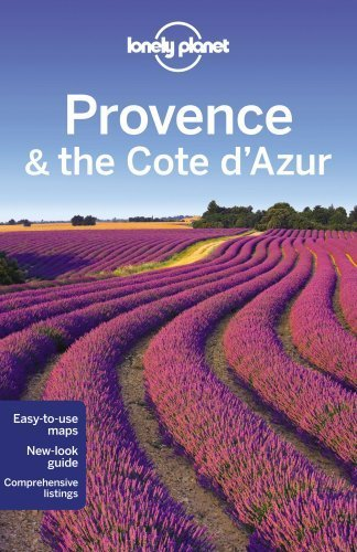 Lonely Planet Provence & the Cote d'Azur (Travel Guide) by Lonely Planet (2013-01-18)
