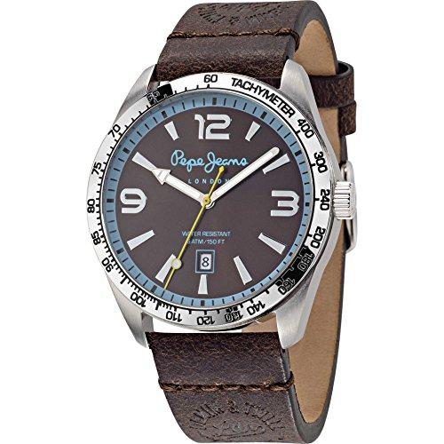 Pepe Jeans JOSHUA-Reloj para hombre piel de cuarzo analógico r2351119003