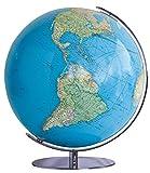 Columbus DUO Leuchtglobus: OID-Code, 34 cm, Meridian und Fuß Chrom