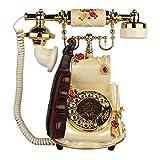 CAALSA Festnetztelefon, Retro-Telefon, Violinfesttelefon,