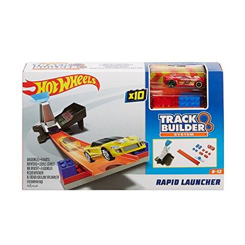 Fire Pit Red (Mattel Hot Wheels DWW94 Track Builder Basis-Set mit Fahrzeug Schnellstarter)