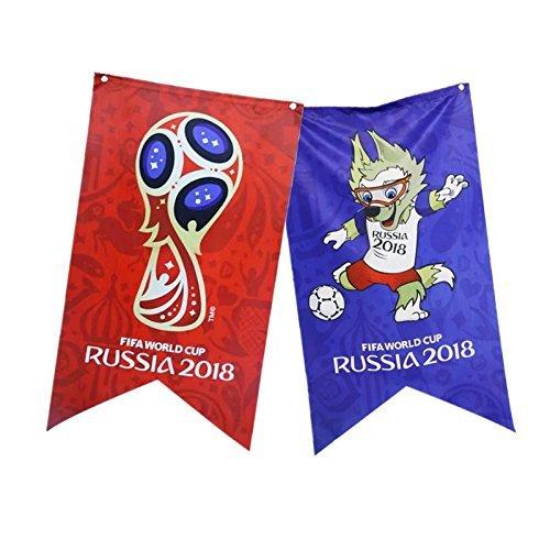 *Drapeau des animaux de compagnie pour la coupe du monde, idéal pour les fans, bar, club de sport, restaurant, salle de billard, supermarché (drapeau PET) Achat