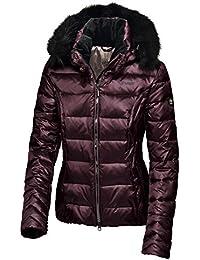 Pikeur–Chaqueta de plumas con capucha desmontable Rachel Premium Colección Otoño/Invierno 2017/2018, hombre, color morado, tamaño 42