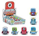 Lizzy® Kids Clockwork Wind Birthday Christmas Stocking Filler Toy Gift by (Mini Tin Robot)