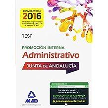 Administrativos de la Junta de Andalucía Promoción Interna. Test