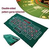 SinceY Roulette Filz Poker Matte Pokerauflage