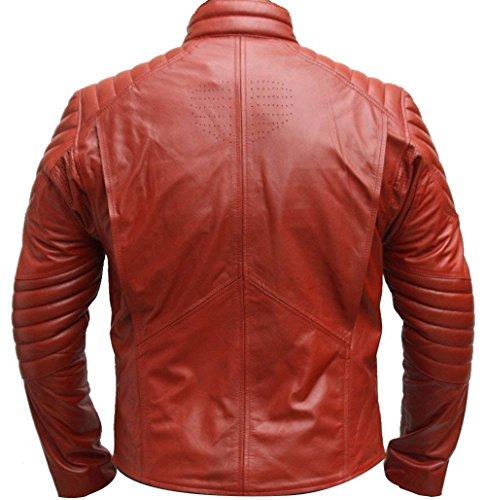 Zouq Fashion -  Felpa con cappuccio  - Uomo Rosso