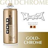 Montana Cans 285943 Spray Dose Gold
