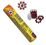 Sohni-Wicke 230 Amorces 8 Schuss Ringmunition für Spielzeugpistolen (3 Rollen = 720 Schuss)