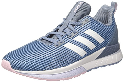 brand new 08fea ffbc6 Adidas Questar Tnd W, Zapatillas de Deporte para Mujer, Gris (Grinat Ftwbla
