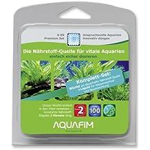 Aquafim S-09 Premium Komplett-Set bis 100 L - 2in1 Dosier-Würfel & Liquid