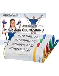 Thera-Band Taschen-Set je 1 x gelb, rot, grün, blau