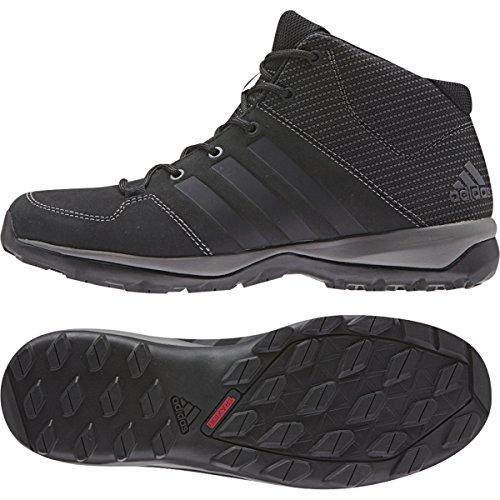 Adidas Daroga plus Mid Lea Randonnée Chaussure, noir / granite / nuit Metallic, nous 8.5 Black / Granite / Night Met