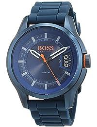 Hugo Boss Orange Homme Analogique Classique Quartz Montre avec Bracelet en Silicone 1550049