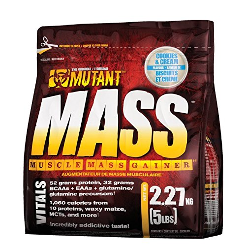 Mutant - Mutant Mass (5lbs - 2270g) - Peanut Butter Chocolate -