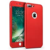 Coque iPhone 7 Plus,Coque iPhone 8 Plus 360 Degré Protection Complète Coque + Verre...