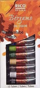 Rico Design Oil Color Bergamo 12tubes a '12ml