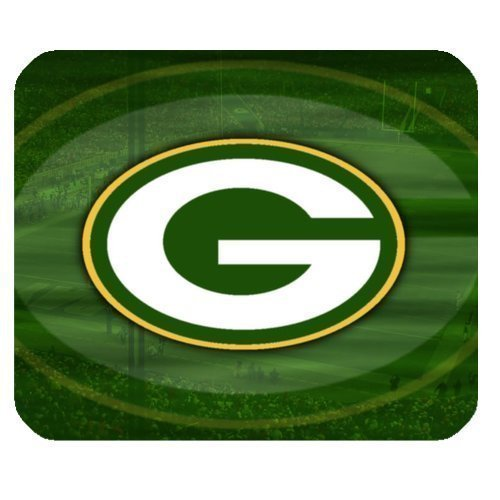 Custom Green Bay Packers Mouse Pad Gaming Rectangle Mousepad CM-903 (Green Packers-computer Bay)