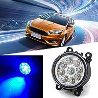 sdfghzsedfgsdfg 2pcs / Set 6000K LED de Alta Potencia Completa Luces de Niebla Luces de Carretera
